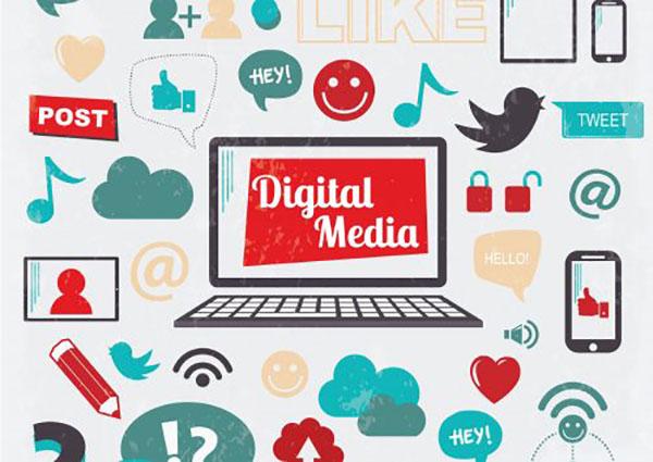 digital media là một phần rất quan trọng trong marketing